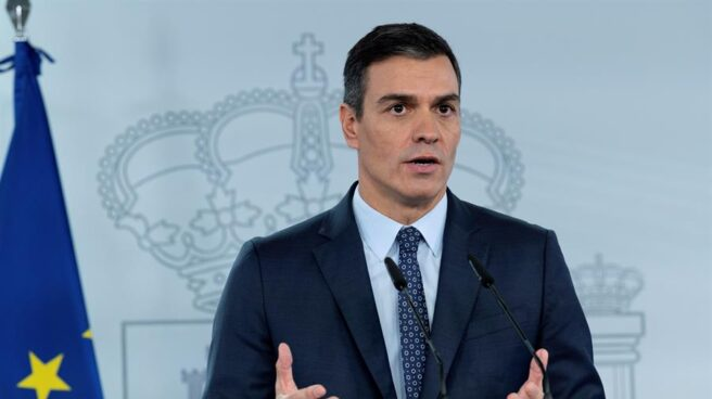 Pedro Sánchez anuncia la declaración del nuevo estado de alarma.
