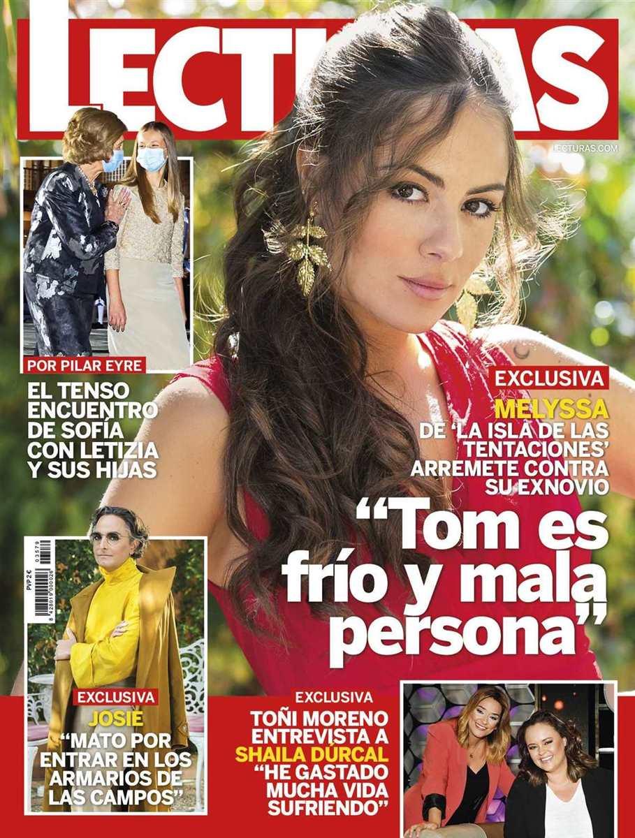 Portada de 'Lecturas' protagonizada por Melyssa Pinto, de 'La isla de las tentaciones'.