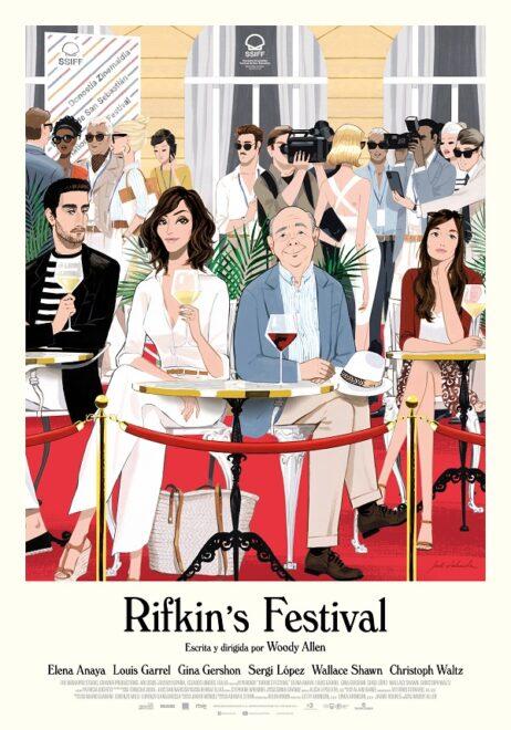 Cartel de 'Rifkin's Festival'
