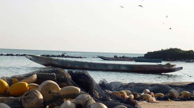 Foto de archivo de la costa senegalesa.