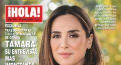 Tamara Falcó en la portada de ¡Hola! de esta semana.