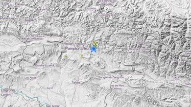 Un terremoto de 4,6 grados con origen en Lizoain se deja sentir en Pamplona