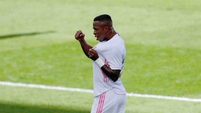 Vinicius Junior, tras su gol ante el Levante.
