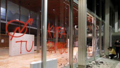 Los antidisturbios de Barcelona pidieron intervenir tres veces contra los okupas que destrozaron el Ayuntamiento