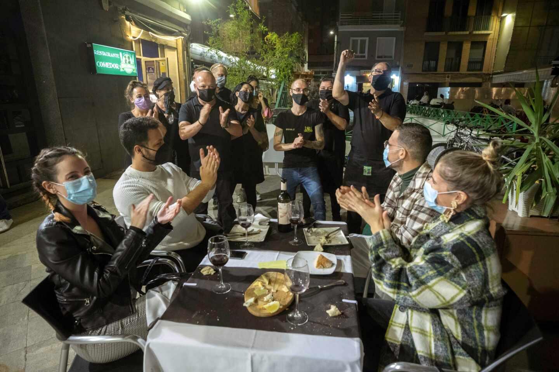 Cierre de bares y restaurantes en Murcia