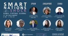 """""""Smart Nations After Shock"""" un panel global sobre naciones y ciudades inteligentes"""
