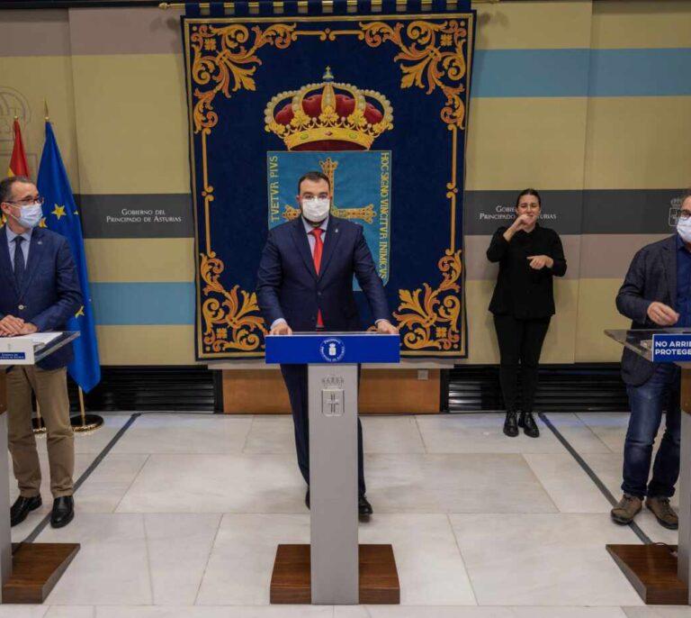 El presidente de Asturias en cuarentena por contacto con un positivo