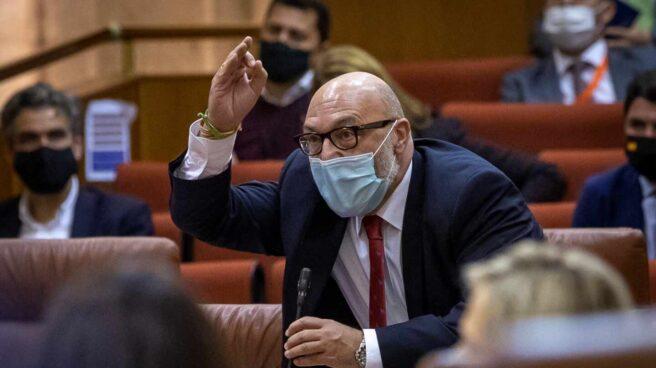 Sesión de control al Gobierno en Parlamento de Andalucía en Sevilla