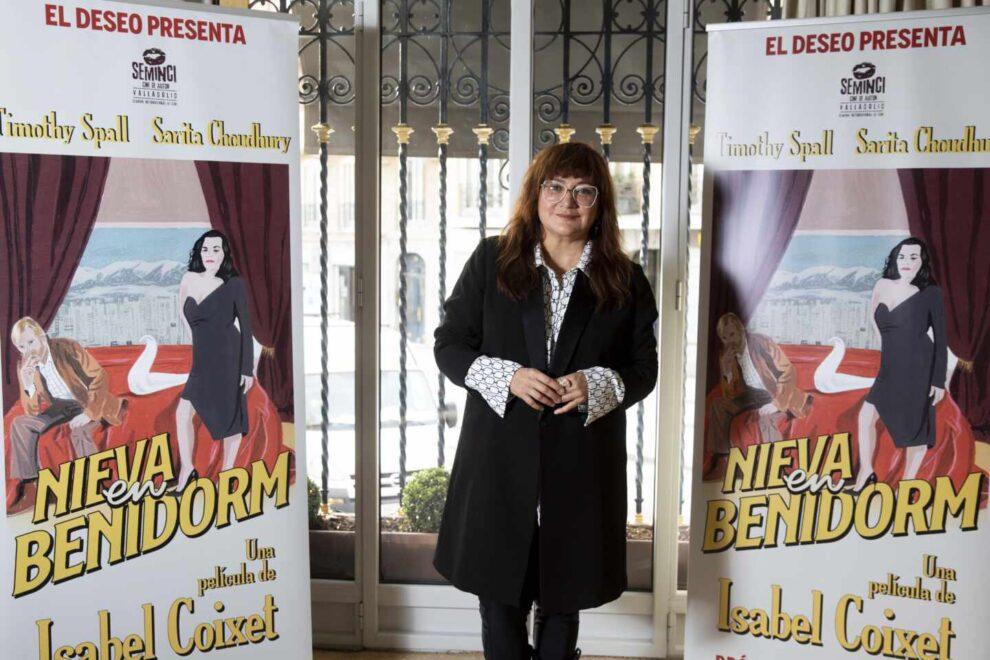 Isabel Coixet presenta 'Nieva en Benidorm'. Nacho López.