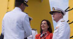 Margarita Robles y Teodoro López Calderón.