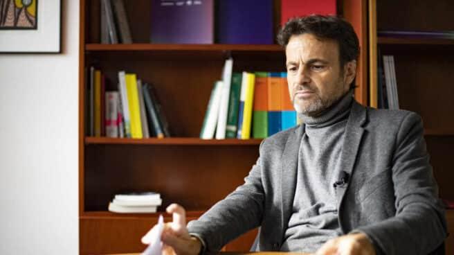 El diputado Jaume Asens, durante su entrevista con El Independiente
