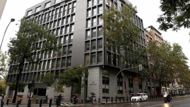 Sede de la Audiencia Nacional, calle Génova (Madrid).