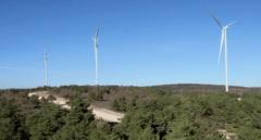 Los gigantes eólicos de Burgos que hacen pequeña a la Torre Picasso