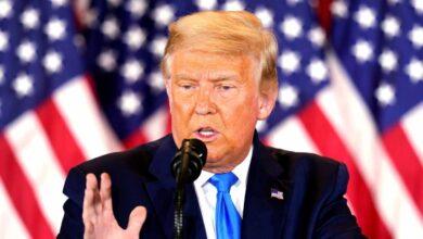 Trump da por segura la victoria y acusa de fraude a los demócratas