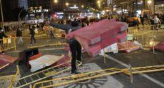 Disturbios en Madrid.