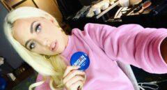 Lady Gaga mostrando su apoyo a Biden a través de Twitter.