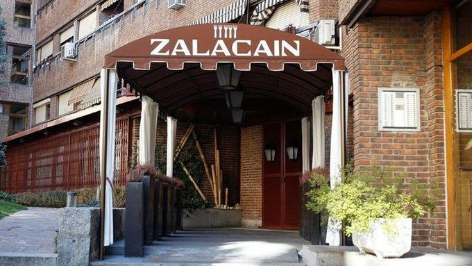 Entrada del Zalacaín.