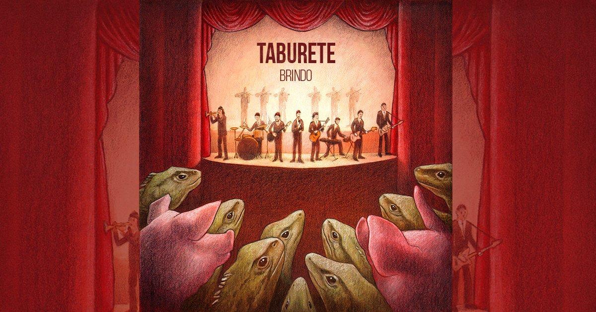'Brindo', el nuevo sencillo de Taburete.