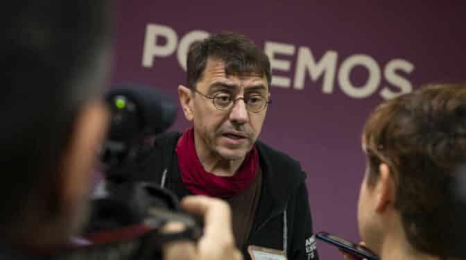 El juez del 'caso Neurona' imputa a Juan Carlos Monedero