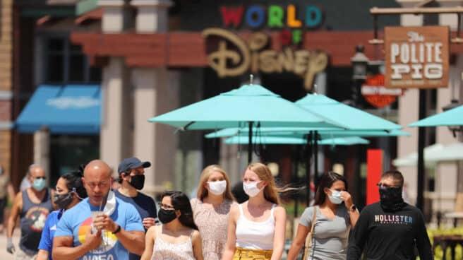 Ambiente en Disney (Orlando).