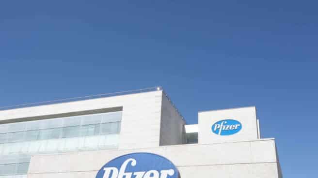 Laboratorios Pfizer en Madrid.