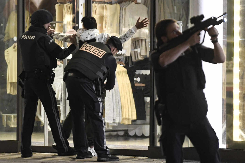Ataque terrorista en Viena.