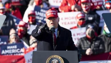 Twitter marcó como inadecuados al menos 50 publicaciones y retuits de Trump