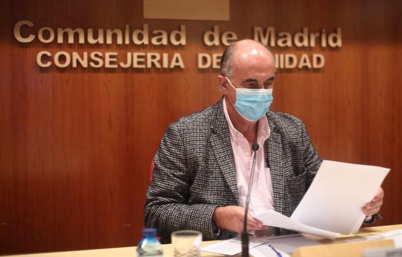 Salud de Madrid informa sobre la situación de la pandemia en la región