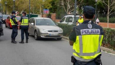 Espectacular persecución policial a un kamikaze que conducía en dirección contraria en Cartagena