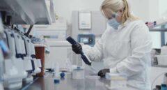 Trabajos de la vacuna en los laboratorios de Moderna.