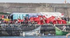 """Policías y guardias civiles critican la """"ausencia de liderazgo"""" y la """"descoordinación"""" en Canarias"""
