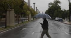 La borrasca 'Lola' se traslada a Andalucía con fuertes lluvias y tormentas