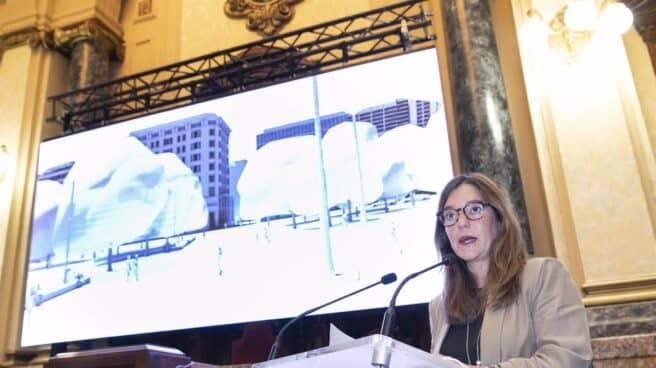 Inés Rey, alcaldesa de La Coruña.