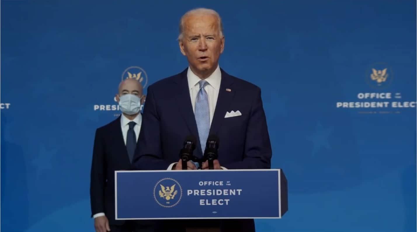 Joe Biden-comunicación