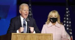 Joe Biden-Jill-noche electoral