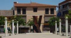 Plaza de la localidad madrileña de Velilla de San Antonio.
