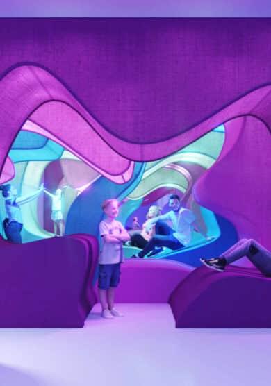 'Sweet Space', el templo del dulce que combina arte urbano y entretenimiento