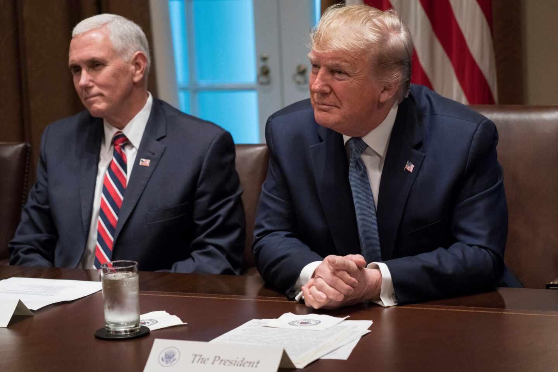 Trump y Pence elecciones EEUU