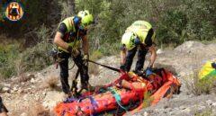 Muere un excursionista en Valencia tras caer 20 metros en una montaña