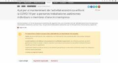 Las ayudas de la Generalitat para 10.000 autónomos se agotan en un día