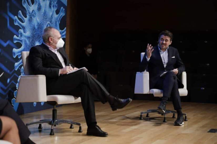 Germán Villar, director de tecnología de Cofares, y Guillermo Pascual, director de Operaciones SUEZ España