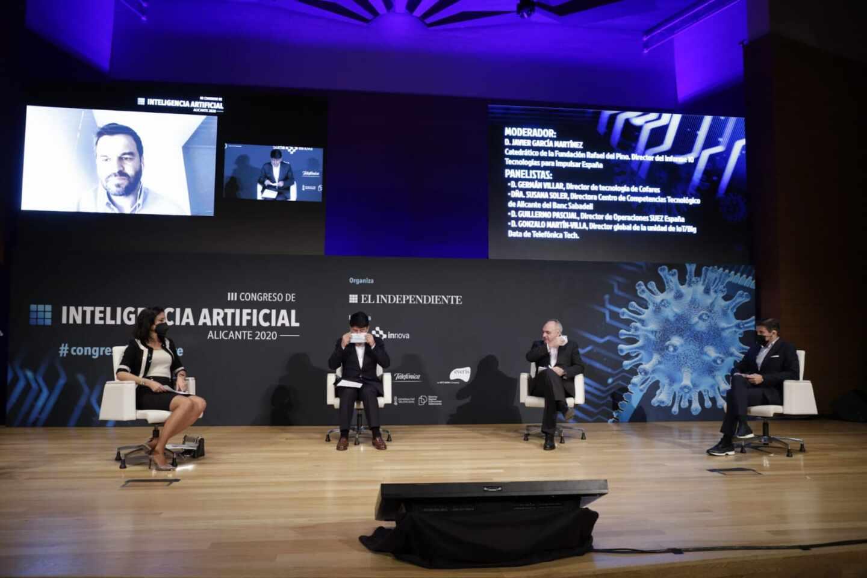 Gonzalo Martín-Villa, director de la unidad de IoT/Big Data de Telefónica Tech, participó vía online en el Congreso