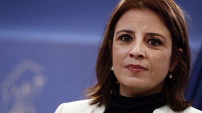 Adriana Lastra, en el Congreso de los Diputados.