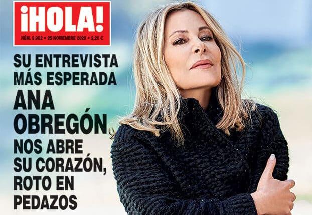 Portada de '¡Hola!' con Ana Obregón en exclusiva.