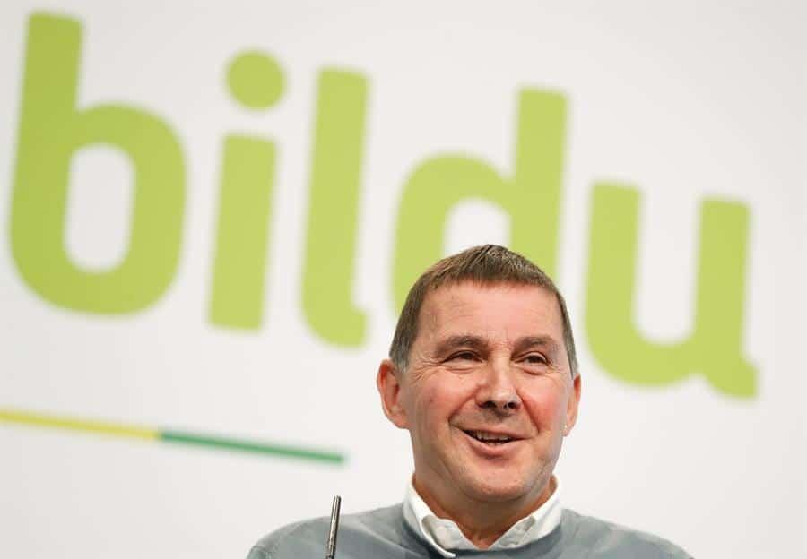 El líder de EH Bildu, Arnaldo Otegi.