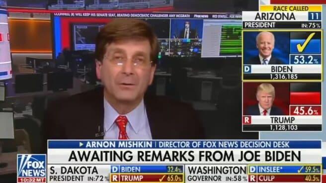 Arnon Mishkin, director de la mesa de decisiones de Fox News.
