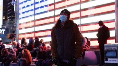 Los estadounidenses aguardan sin disturbios el resultado electoral