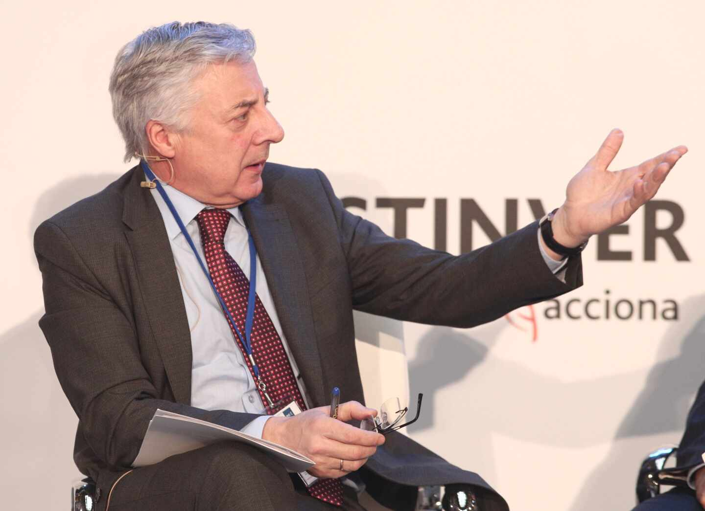 El ex ministro de Fomento José Blanco, en un coloquio sobre inversión.
