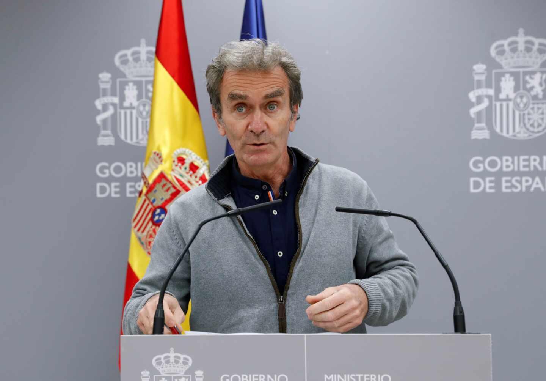 El director del Centro de Coordinación de Alertas y Emergencias Sanitarias, Fernando Simón.