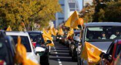 La marea naranja contra la 'Ley Celaá' se manifiesta este miércoles ante el Senado